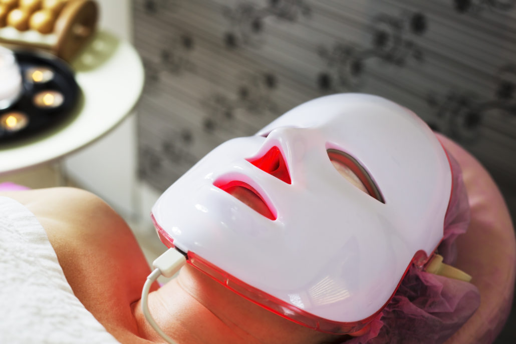 LED Therapie masker rood