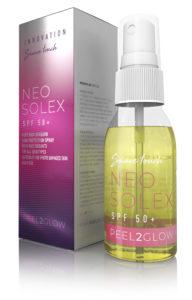 Neosolex SPF50+ zonnebescherming in een spray
