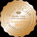 Skintech gecertificeerde kliniek 2019 RRS Skinboosters