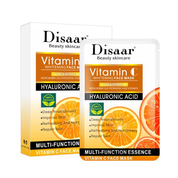 Disaar Hyaluron gezichtsmasker met Vitamine C_box10