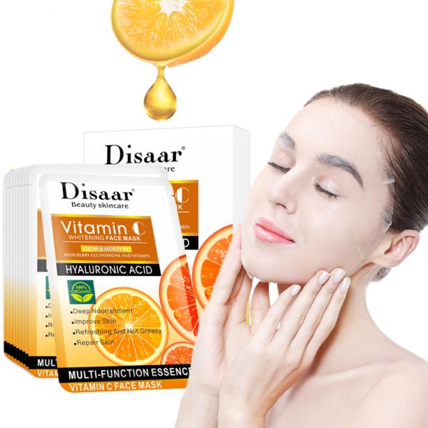 Disaar Hyaluron gezichtsmasker met Vitamine C_demo