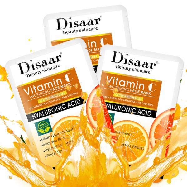 Disaar Hyaluron gezichtsmasker met Vitamine C_product