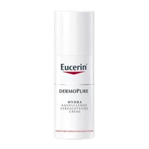 Eucerin DermoPure Hydra aanvullende verzachtende crème voor acnegevoelige huid