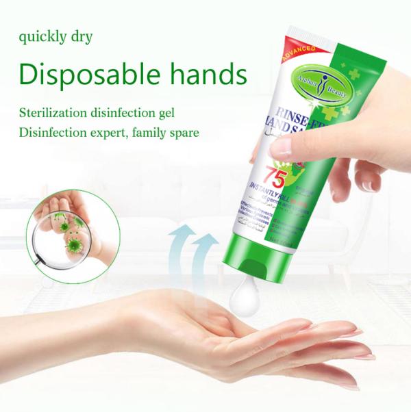 desinfectie handgel biedt bescherming tegen bacterien en virussen_detail