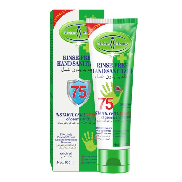 desinfectie handgel biedt bescherming tegen bacterien en virussen_product