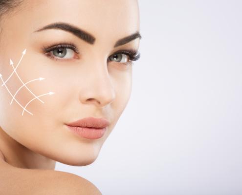 Gold 4D HIFU-behandeling voor een strakkere huid zonder operatie - Facelift non-invasieve behandeling